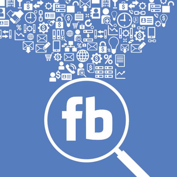 Facebook-vinden