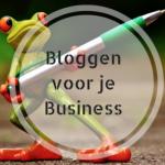 Jezelf & je praktijk zichtbaar met Bloggen